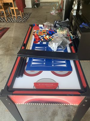 Billiards with hockey, chess and more games for kids for Sale in Pittsburg, CA
