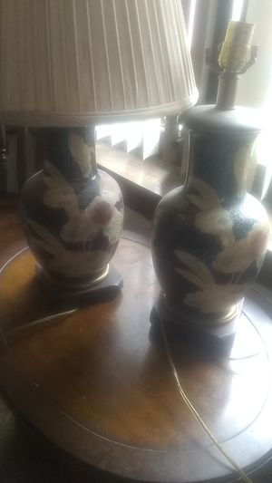 2 antique lamps clean and ready to go for Sale in Chicago, IL