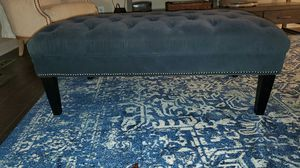 Ottoman 24×48 blue fabric for Sale in Bel Air, MD