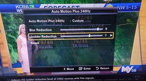 Samsung 55 8000 series 240HZ TV for Sale in Stockton, CA