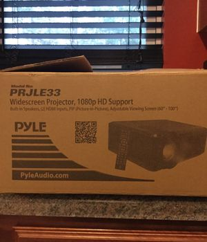 PYLE HD LED PROJECTOR for Sale in Winston-Salem, NC