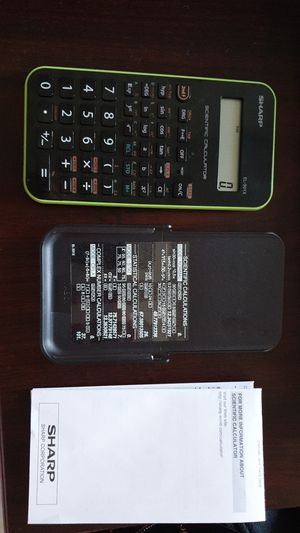 Sharp scientific calculator for Sale in Murray, KY