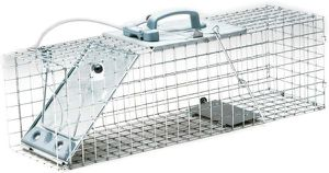 New Havahart 1083, 1084 & 1085 Easy Set One-Door Cage Trap for Rabbits, Skunks, Minks and Large Squirrels. for Sale in Las Vegas, NV
