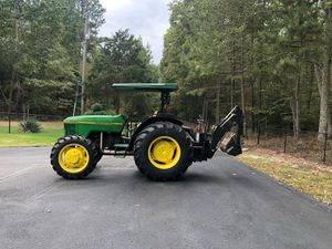 John Deere 5200 Tractor With 4x4, New Tires, & Backhoe!!! for Sale in Hopewell, VA