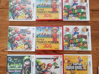 Nintendo 3DS Games for Sale in Schenectady,  NY