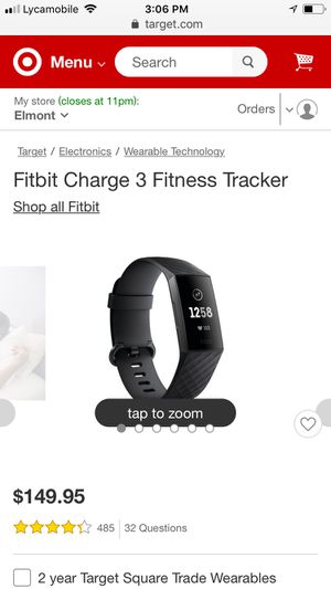 Fitbit charge 3 for Sale in Queens, NY