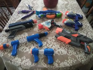 Nerf gun bundle $5 pick up need gone asap for Sale in Stockton, CA