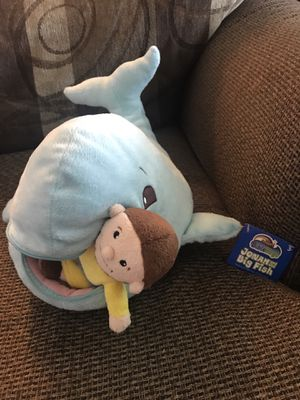 Bible Toys Jonah and the Big Fish plush for Sale in Granite City, IL
