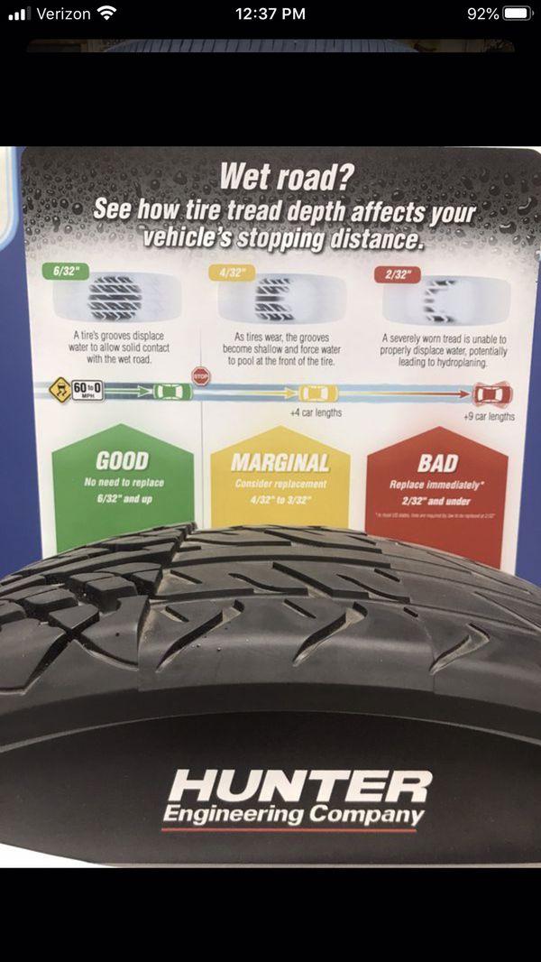 Two - 255/60/19 General Grabber HTS60 Tires