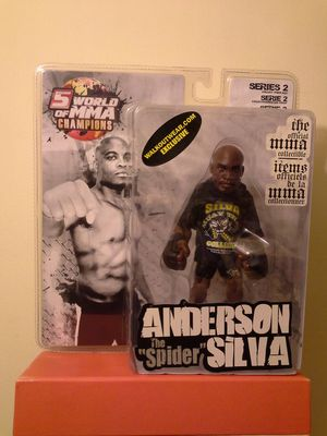 UFC Legends Anderson The Spider Silva Sealed In Plastic New for Sale in Reedley, CA