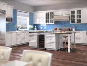 New style for white kitchen cabinets for Sale in Tarpon Springs, FL