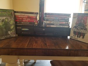 Dvd player with movies for Sale in Port St. Lucie, FL