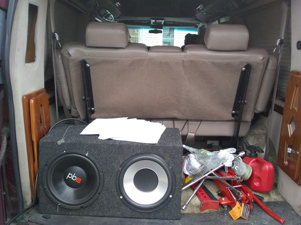 2001 Chevy Express 1500 Conversion