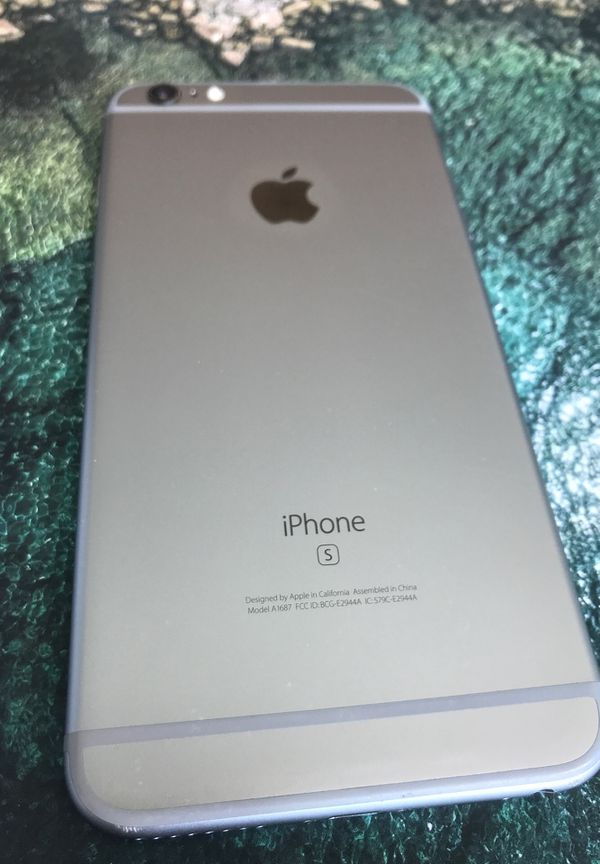 Apple iPhone 6s Plus 16gb Space Gray Unlocked