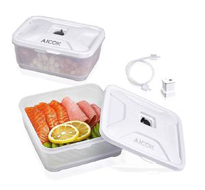 Food Storage Container Compatible with All Most of Vacuum Sealers(NutriChef and GERYON, etc), for Longer Vacuum Food Storage Containers for Sale in Anaheim, CA