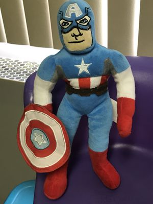 Captain America Stuffed Animal for Sale in Bloomingdale, IL