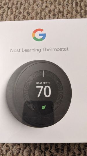 Google nest learning thermostat for Sale in TN OF TONA, NY