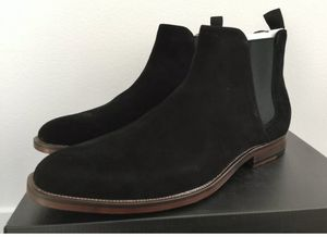 Aldo men's black Chelsea suede ankle boots for Sale in Saddle Brook, NJ