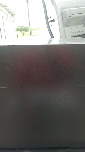 2 black block end tables for Sale in Austin, TX