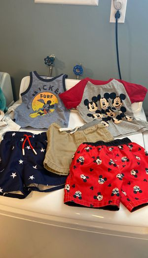 18 months to 2t baby boy clothes for Sale in Philadelphia, PA