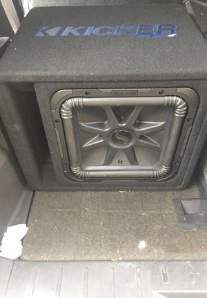 Kicker l7 and amp for Sale in Oxon Hill, MD