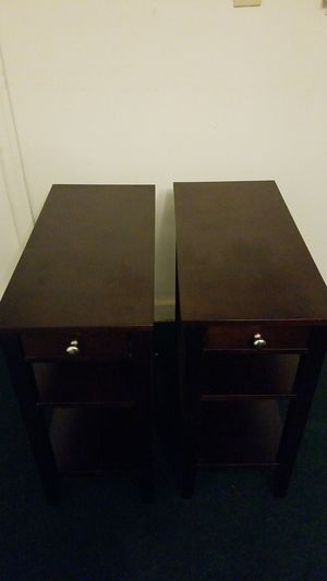 3-Tier End Table With Drawer (2 End Tables) for Sale in Lake Worth, FL