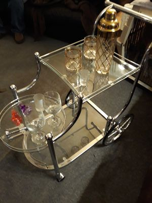 Bar cart for Sale in Raleigh, NC