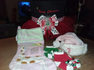 NEWBaby Girls Christmas Bundle for Sale in Rodessa, LA