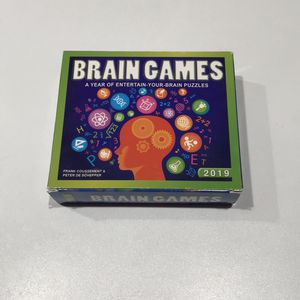 NEW Brain Games/ Puzzles Calendar 2019 for Sale in Farmington Hills, MI