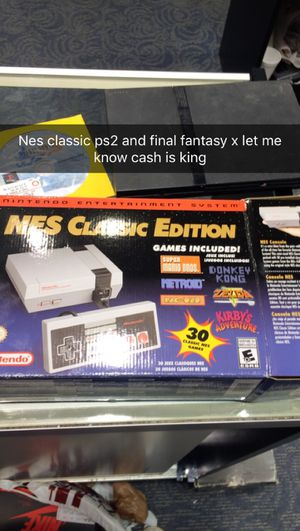 Ps2 w a controller 2 memory cards about 30-40 games nes classic Pokémon stadium final fantasy ten 2k15 Xbox for Sale, used for sale  Sayreville, NJ