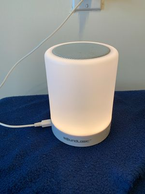 "Soundlogic ""touchlight"" bluetooth speaker for Sale in Washington, DC"
