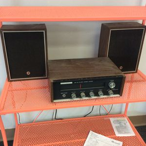 Vintage North American Stereo and Speakers Working! for Sale in Bellingham, MA