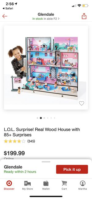 Lol surprise doll house for Sale in Glendale, CA