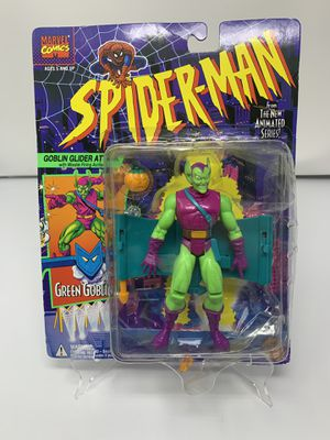 Vintage Green Goblin Action Figure from the 90's Spider-Man The Animated series (Brand New) for Sale in Washington, DC