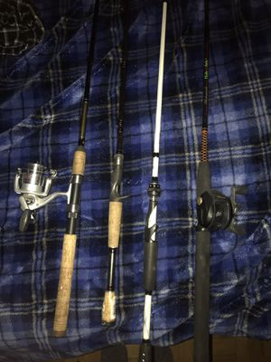 Fishing rods/ reels for Sale in Holliston, MA