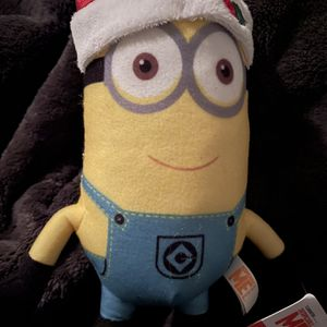 Christmas Santa Hat Despicable Me Minion Plush for Sale in Ontario, CA