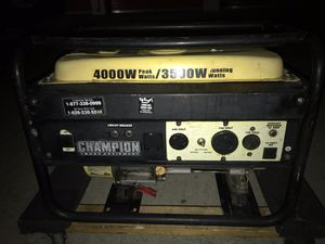 Generador 4000 watts for Sale in San Jose, CA