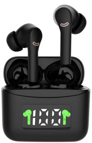 Wireless Earbuds Bluetooth V5.2 Headphones Noise Canceling Headset Stereo IPX7 Waterproof Headphones Sport in Ear with Mini Led Charging Case and Int for Sale in Chicago, IL