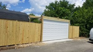 Garage doors and fence. for Sale in Washington, DC