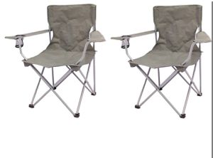 Set of 2 camping folding chair - New for Sale in Taylor, MI