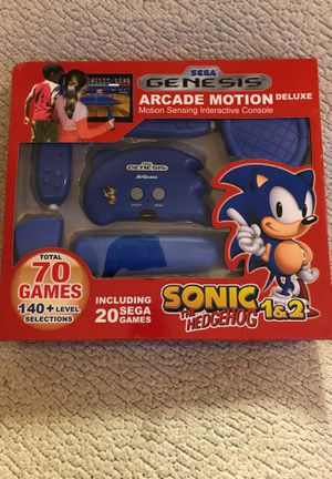 SEGA Genesis Arcade Motion DELUXE 70 Games Console for Sale in Overland Park, KS
