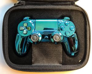 Brand New Baby Blue Chrome Controller Customized by The Console Plug for Sale in Quincy, IL