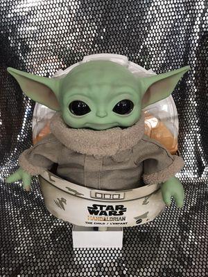 Baby yoda plushie the mandalorian the child plush for Sale in Pomona, CA