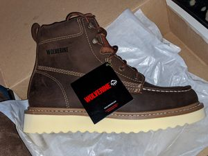Wolverine Boots size 9 non steel for Sale in Riverside, CA
