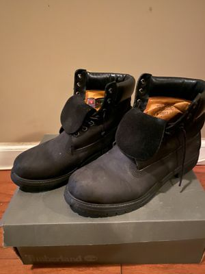 Black timberlands size 10 for Sale in MIDDLE CITY WEST, PA