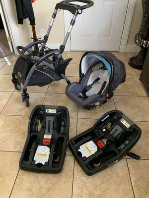 Graco snugride snuglock 35 car seat and stroller for Sale in Las Vegas, NV