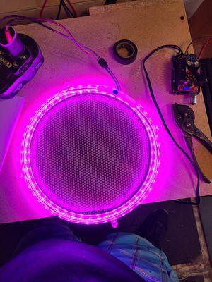 Led speaker rings for Sale in Chester, VA