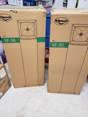 Klipsch VF-36 Floor Towers (Pair) for Sale in Magnolia, TX