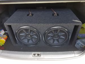 Subwoofer Kicker 12 in Ported for Sale in Providence, RI