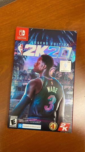NBA 2K20 legend edition for Nintendo switch for Sale in Kirkland, WA